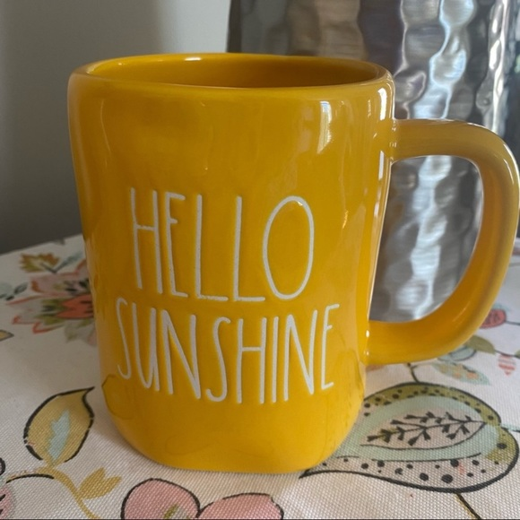 2/$26 Rae Dunn Mug Hello Sunshine